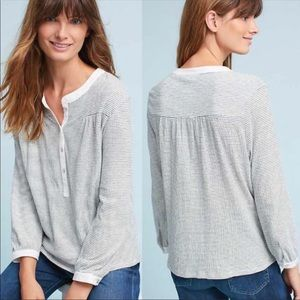 Anthropologie Dolan Henley top